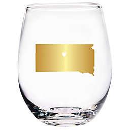 Home Essentials & Beyond South Dakota State Stemless Wine Glass