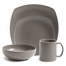 Artisanal Kitchen Supply® Edge Dinnerware Collection in Stone