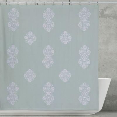 Creative Bath Boho Shower Curtain In Aqua