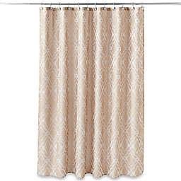 Taj Mahal Shower Curtain in Tan
