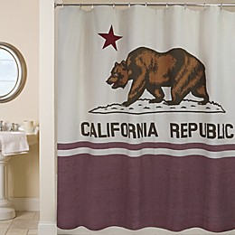 Park B. Smith California Republic 72-Inch Shower Curtain