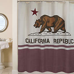 Park B. Smith California Republic 72-Inch Shower Curtain