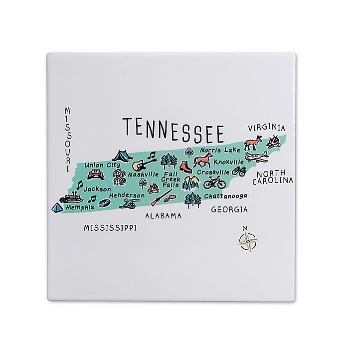 Alternate image 1 for My Place Tennessee 7.75\