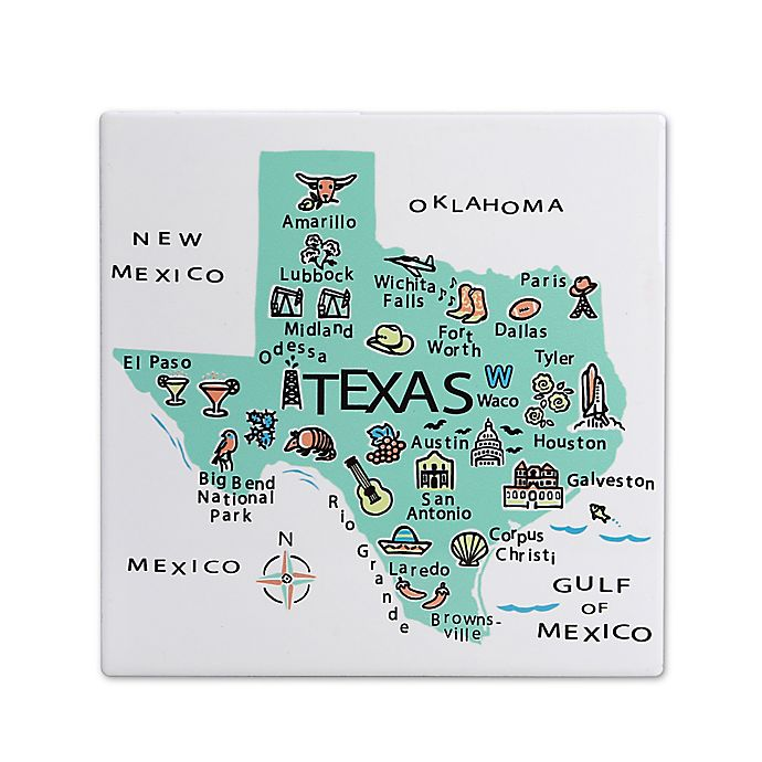 Alternate image 1 for My Place Texas 7.75\