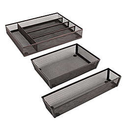 ORG Kitchen Drawer Organizer Collection in Bronze
