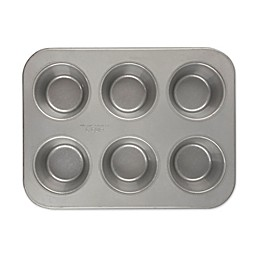 Emeril™ Nonstick Aluminized Steel 6-Cup Texas Muffin Pan