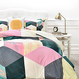Deny Designs Dash and Ash Sunday Vibes Duvet Cover