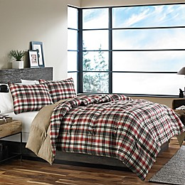 Eddie Bauer® Astoria Comforter Set in Red
