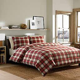 Eddie Bauer® Navigation Plaid Comforter Set in Red