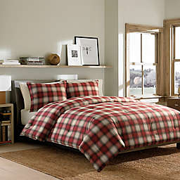Eddie Bauer® Navigation Plaid Comforter Set in Red