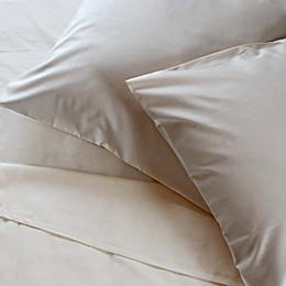 Reverie Solid 300-Thread-Count Organic Cotton Sheet Set in Natural
