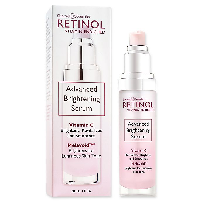 Alternate image 1 for Skincare Cosmetics® Retinol Vitamin Enriched 1 oz. Advanced Brightening Serum