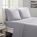 Sleep Philosophy® Smart Cool Queen Sheet Set in Grey