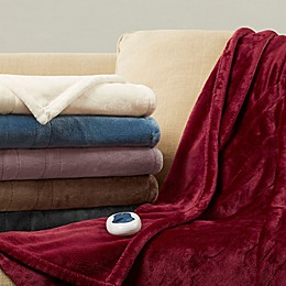 Beautyrest® Heated Plush Throw Blanket