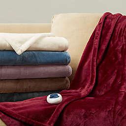 Beautyrest® Heated Plush Throw Blanket
