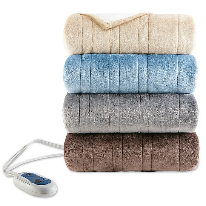 Alternate image 1 for Beautyrest® Heated Snuggle 50-Inch x 64-Inch Electric Wrap