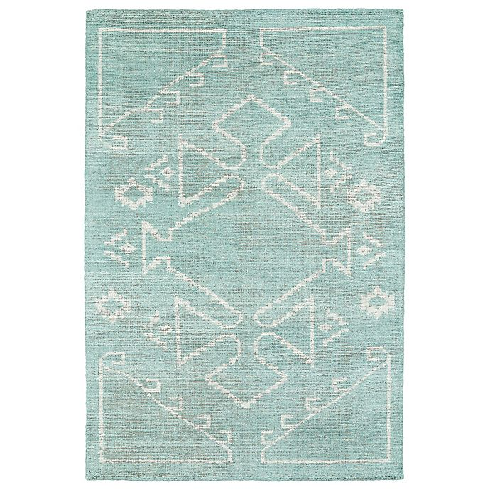 Alternate image 1 for Kaleen Solitaire 8-Foot x 11-Foot Navajo-Inspired Area Rug in Mint