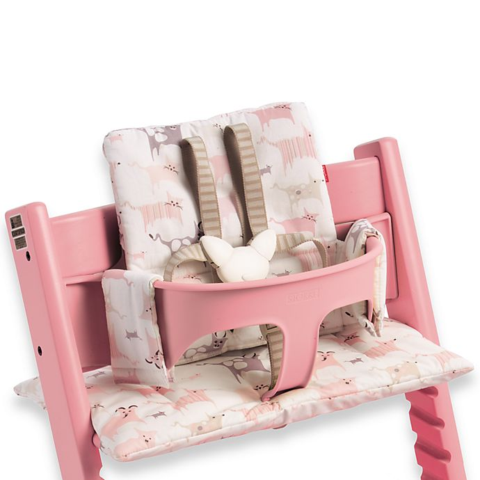 Tripp Trapp From Stokke Tales Pink High Chair Cushion Buybuy Baby