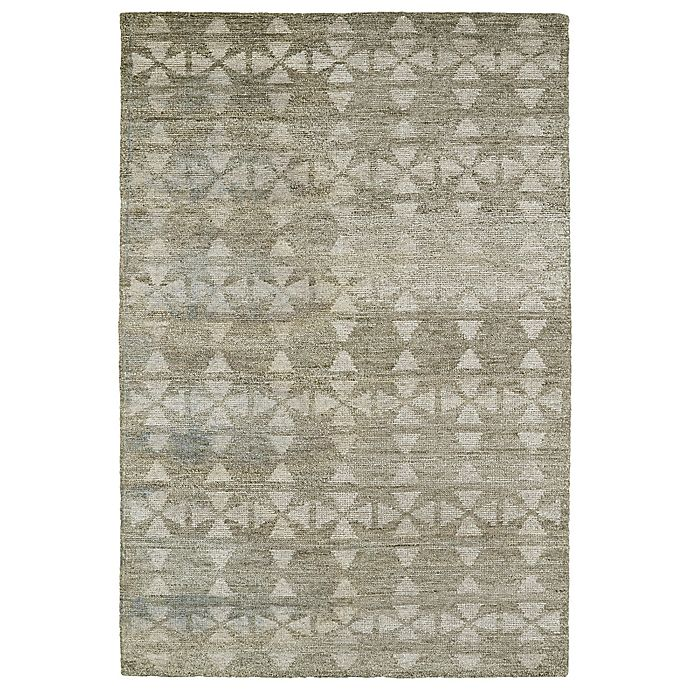 Alternate image 1 for Kaleen Solitaire Tribal 8-Foot x 11-Foot Area Rug in Oatmeal
