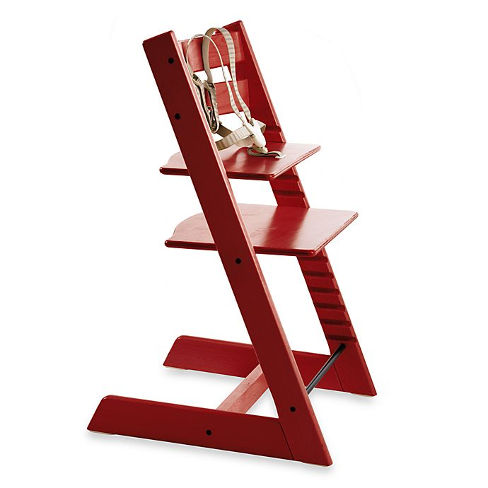 Alternate image 1 for STOKKE® Tripp Trapp®  High Chair in Red