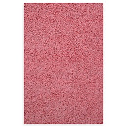 Fun Rugs™ Chenille Cotton Shag Area Rug in Pink