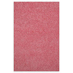Fun Rugs™ 4-Foot 3-Inch x 6-Foot 6-Inch Chenille Cotton Shag Area Rug in Pink