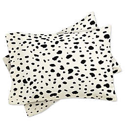 Deny Designs Rebecca Allen Miss Monroes Dalmatian Standard Pillow Sham