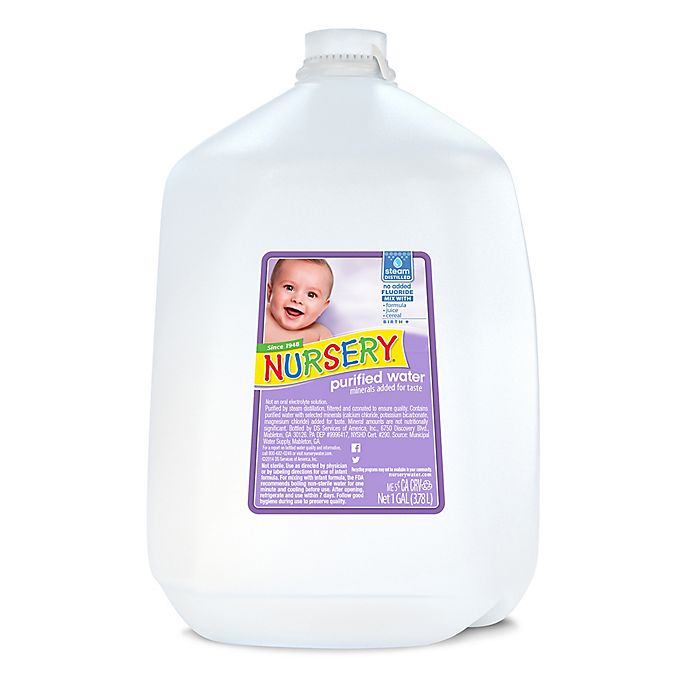Alternate image 1 for 1-Gallon Non-Fluoride Nursery Water