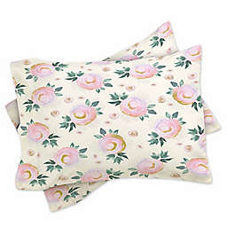 Deny Designs Iveta Abolina Rose Taffy Standard Pillow Sham in Pink