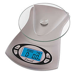 Escali® Vitra Glass Top Digital Kitchen Scale