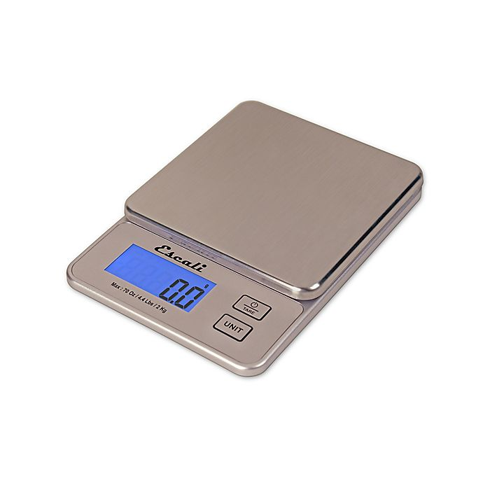 Alternate image 1 for Escali® Vera Compact Digital Kitchen Scale
