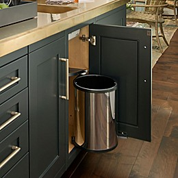 Rev-A-Shelf - 8-010314-15 - 14-Liter Stainless Pivot-Out Under Sink Waste Container