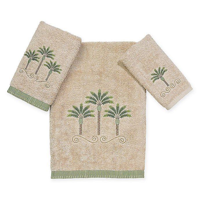 Alternate image 1 for Avanti Premier Palm Beach Bath Towel in Linen