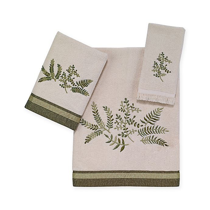 Alternate image 1 for Avanti Greenwood Bath Towel Collection in Ivory