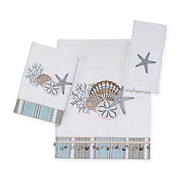 Avanti By The Sea Bath Towel Collection in White