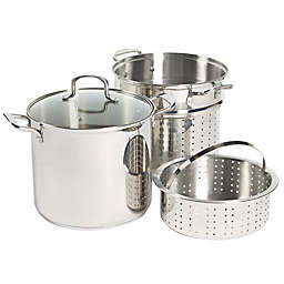 SALT® Stainless Steel 4-Piece Multi-Cooker