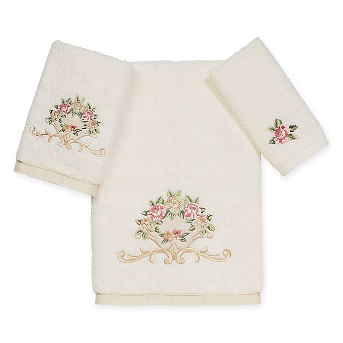 Alternate image 1 for Avanti Premier Royal Rose Bath Towel Collection in Ivory