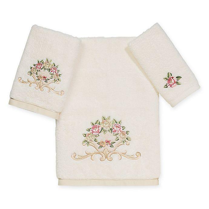 Alternate image 1 for Avanti Premier Royal Rose Bath Towel in Ivory