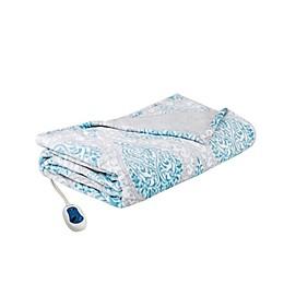 Beautyrest® Heated Senna Throw Blanket