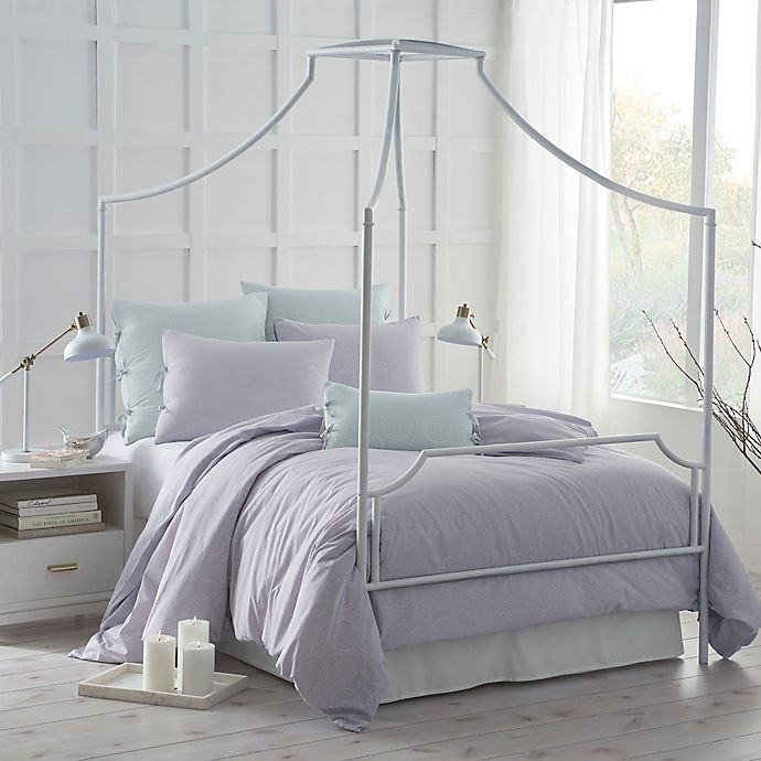 Alternate image 1 for Under the Canopy® Urban Edgelands Organic Cotton Twin Comforter Set in Purple Thistle