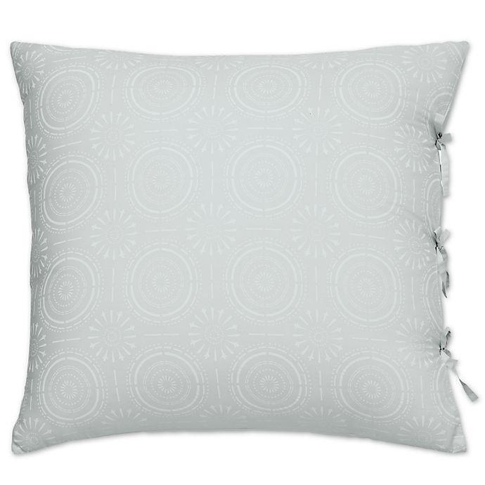 Alternate image 1 for Under the Canopy® Urban Edgelands European Pillow Sham in Sea Glass