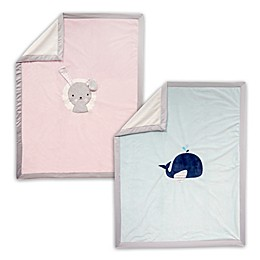 Lambs & Ivy® Animal Minky Baby Blanket Collection