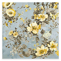 Waverly 32-Inch x 32-Inch Floral Canvas Art