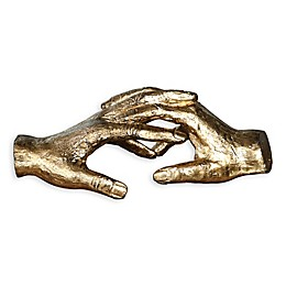Uttermost Hold My Hand Sculpture in Gold