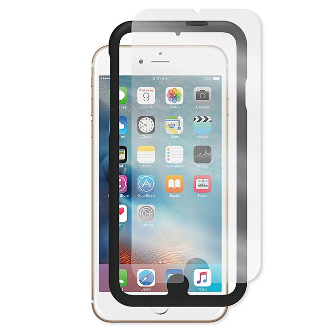 Alternate image 1 for Incipio® PLEX™ Tempered-Glass iPhone 6+ Screen Protector with Applicator