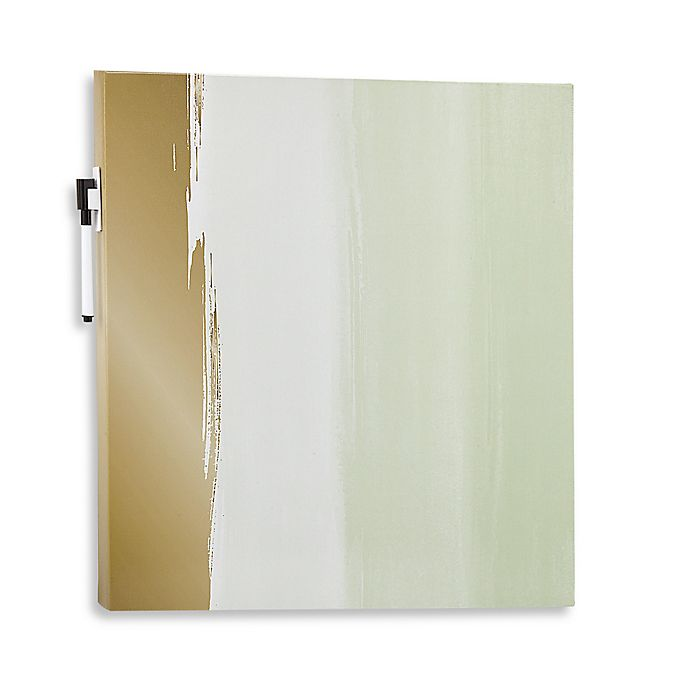 Canvas Decorative Dry Erase Board In Watercolor View A Larger Version Of This Product Image