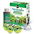 Miracle-Gro® AeroGarden™ Heirloom Salad Greens Seeds 3-Pod Kit