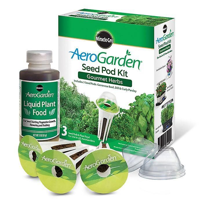 Alternate image 1 for Miracle-Gro® AeroGarden™ Gourmet Herbs Seeds 3-Pod Kit