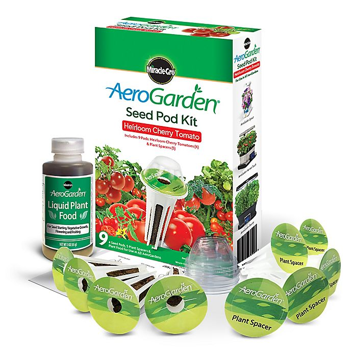 Alternate image 1 for Miracle-Gro® AeroGarden™ Heirloom Cherry Tomato Seeds 9-Pod Kit