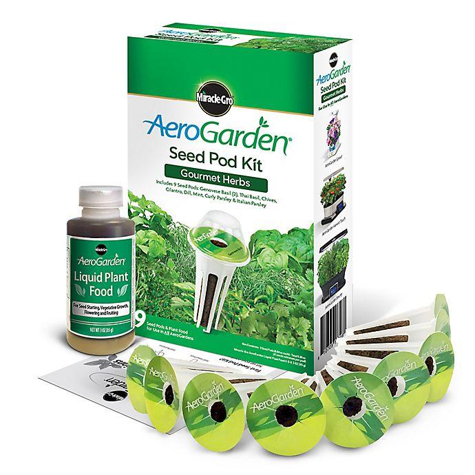 Miracle-Gro® AeroGarden™ Gourmet Herbs Seeds 9-Pod Kit   Bed